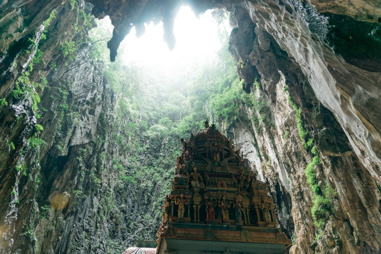 Batu Cave Shrine depicting Lord Murugan's victory over Soorapadam, Malaysia | Irene Navarro / © Culture Trip