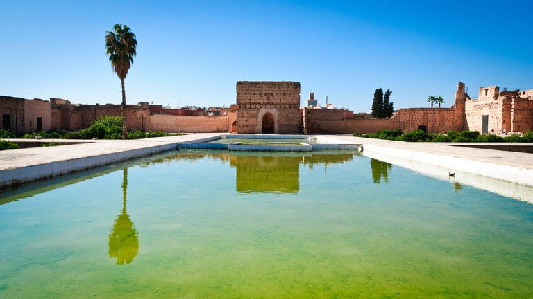 Pool at El Badi Palace