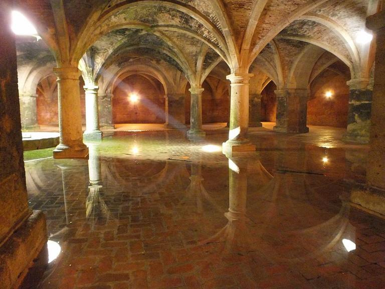 Water cisterns of El Jadida
