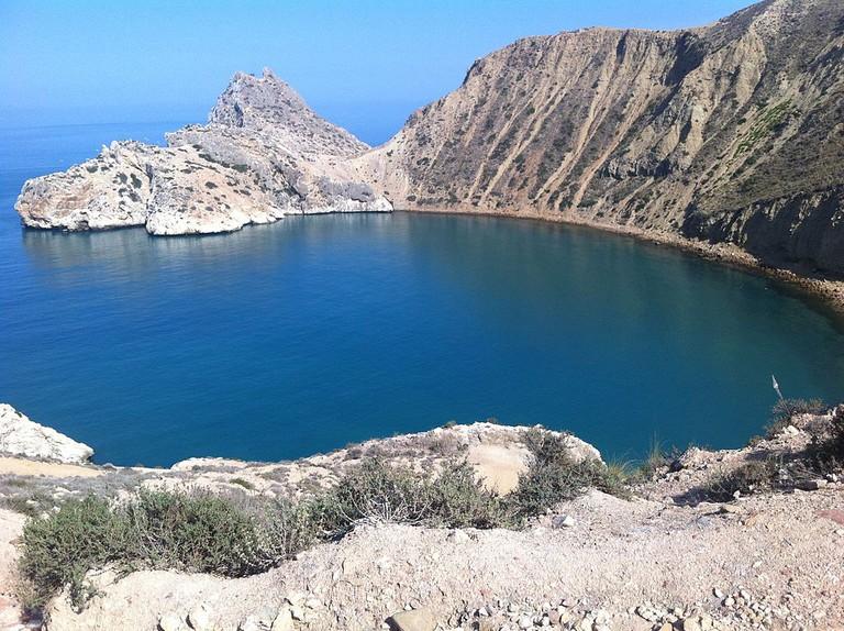 El Jebha's bay