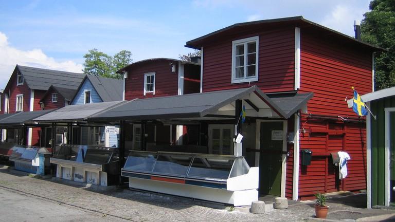 Malmö fish market