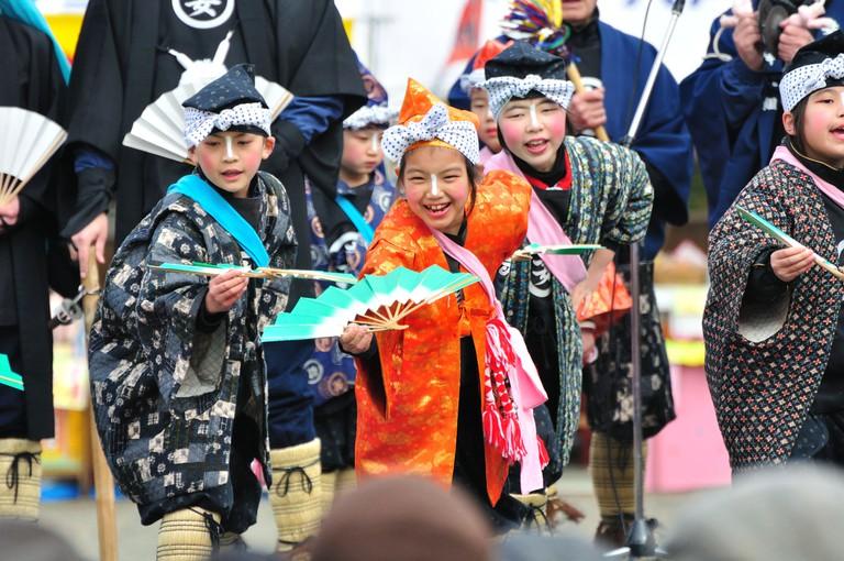 Hachinohe Enburi Costumes
