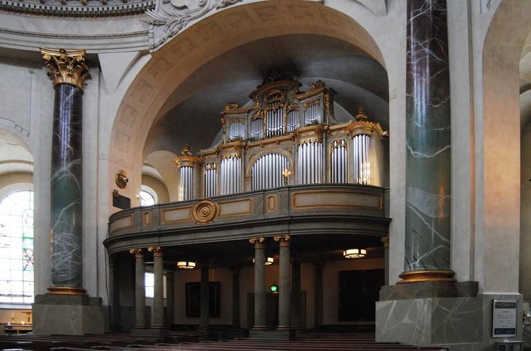 Organ at Hedvig Eleonora Kyrka