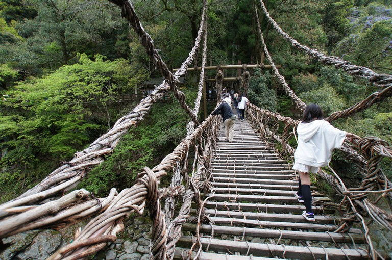 Iya Kazurabashi Historic Vine Bridge