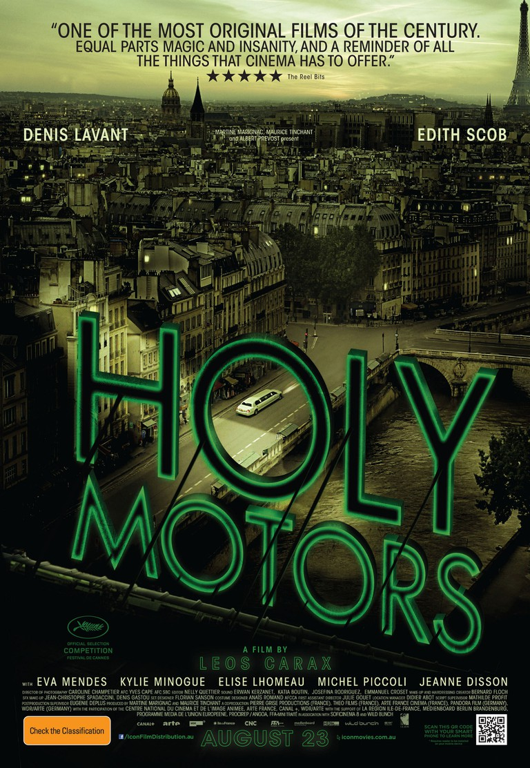 Holy Motors (2012) │ Courtesy of Wild Bunch, Arte Cinema, and Pierre Grise Productions
