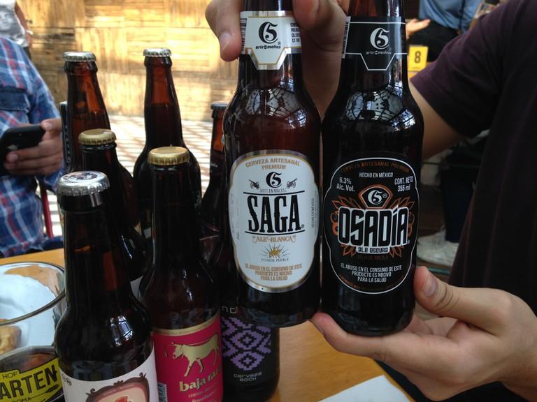 The two Cinco de Mayo options, Osadía and Saga