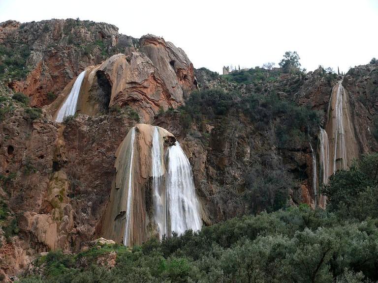 Imouzzer waterfall