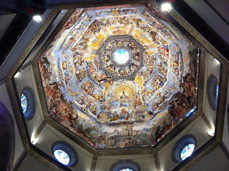 Inside Santa Maria del Fiore