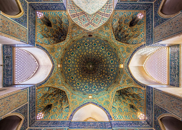 Jameh mosque of Yazd | © Mohammad Reza Domiri Ganji / Wikimedia Commons
