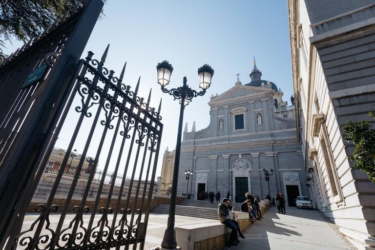 Catedral Almudena-Madrid-Spain