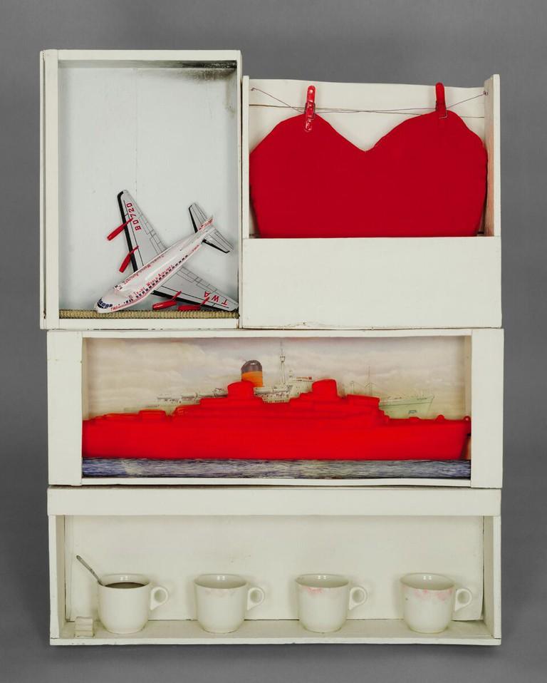 Joyce Wieland, Cooling Room II (1964)