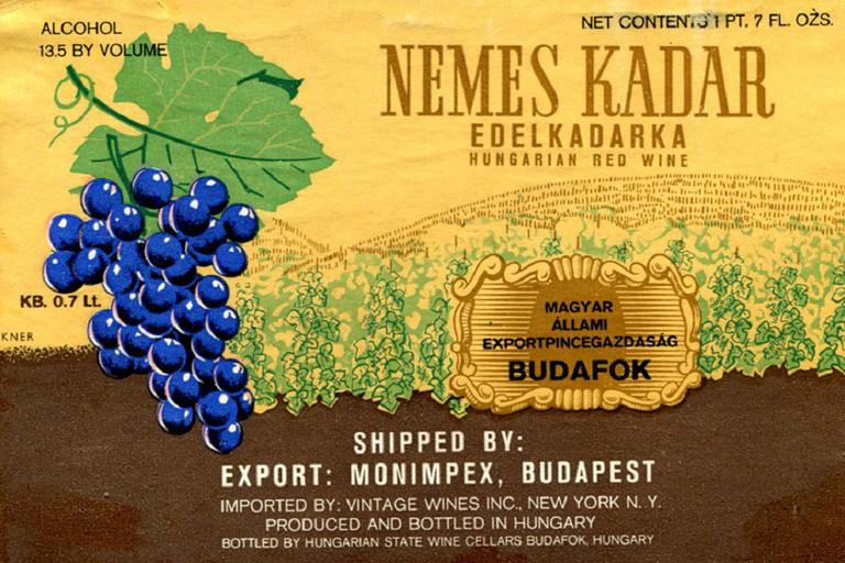 Kadarka wine Hungary