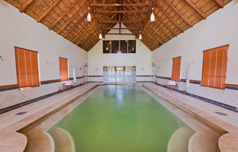 The spa has one of the most advanced thermal treatment facilities in Gauteng
