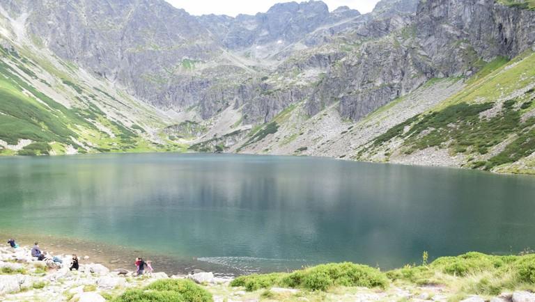 Lake in the High Tatras