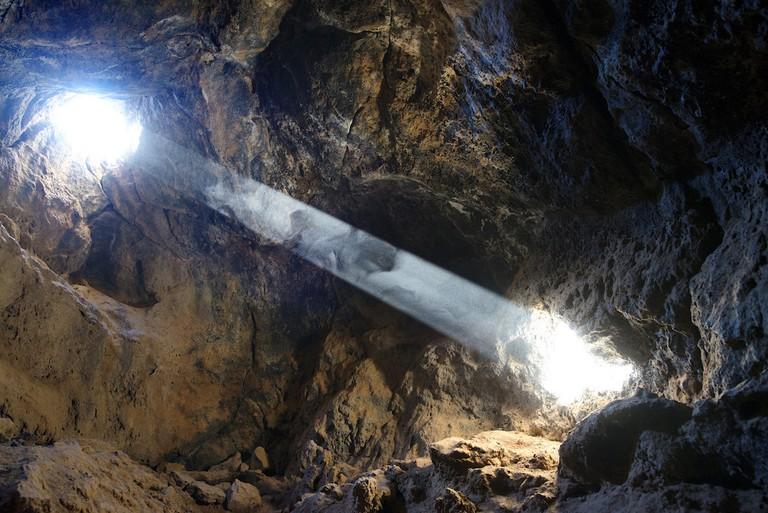 A lava tube