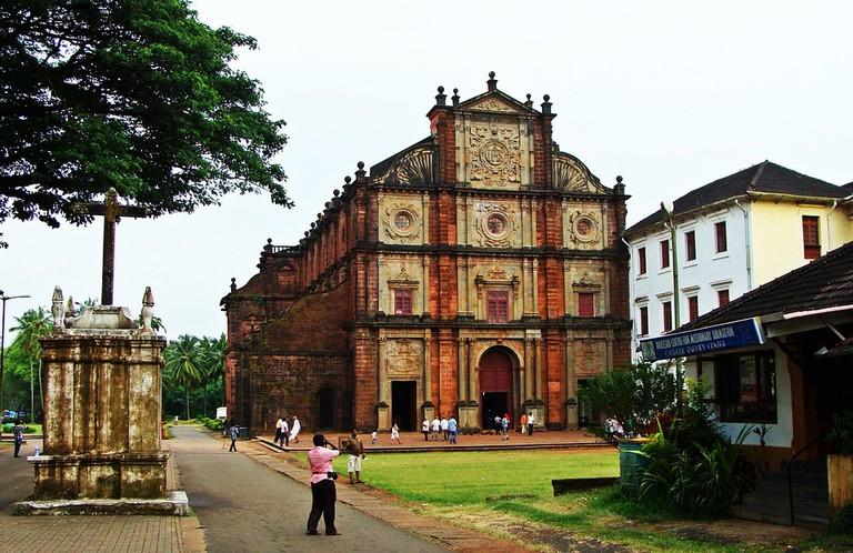 The Basilica of Bom Jesus, Goa
