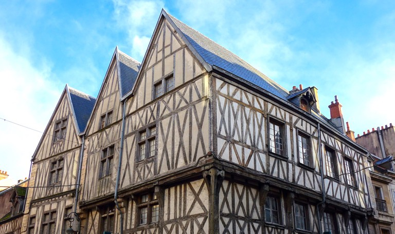 Maison des trois visages, Dijon