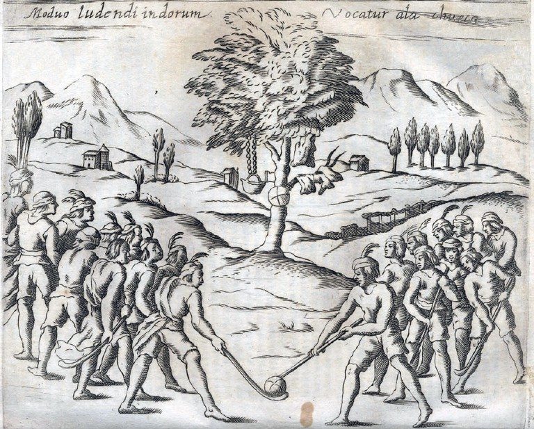 Mapuche Chueca Alonso Ovalle – Public Domain