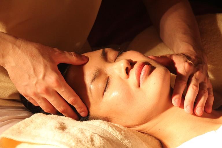A steam massage is a budget-friendly alternative to a facial