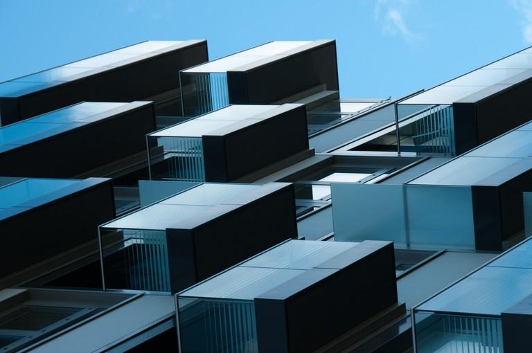 Futuristic Apartments | © Lieven Van Melckebeke/Flickr