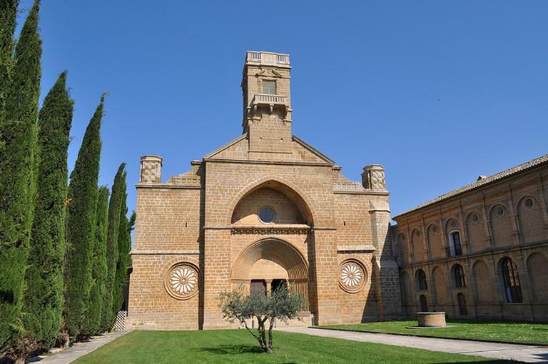 Monasterio de la Oliva | ©AlberMoon / Wikimedia Commons