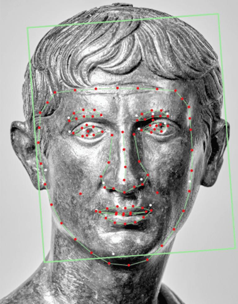 Bust of the emperor Augustus. Fondation Gandur pour l'Art, Geneva