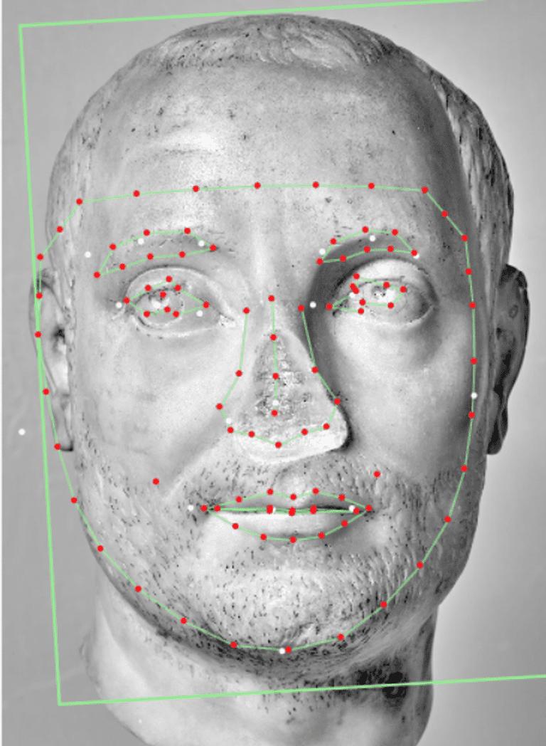 Contemporary of Severus Alexander. Sculpture of a man with a short beard Musée d'art et d'histoire, Geneva