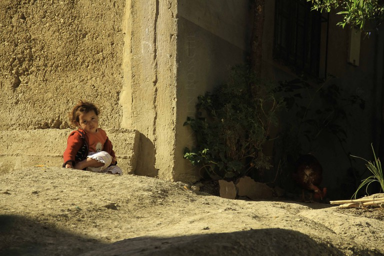 Child in Morocco