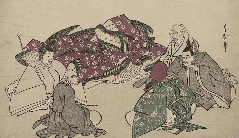 An interpretation of Murasaki Shikibu made during the Edo Period | © Utamaro/WikiCommons