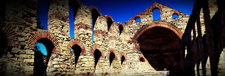 Remains from the past in Nessebar