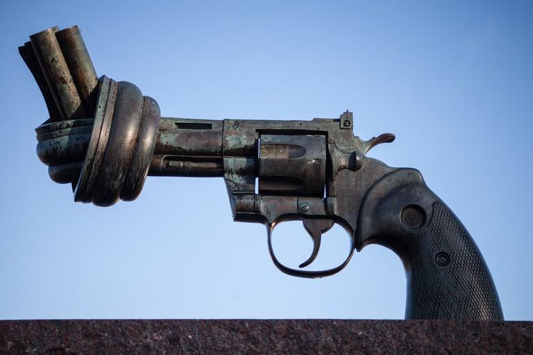 Non-violence aka The Knotted Gun by Carl Fredrik Reuterswärd