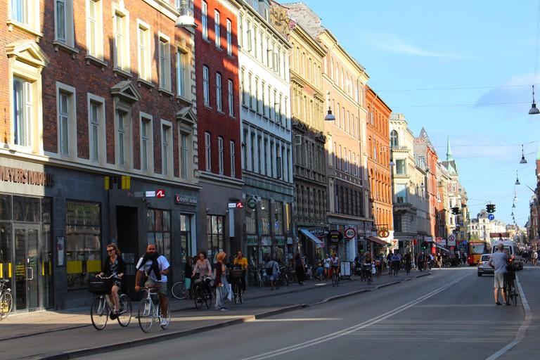 nørrebrogade-nørrebro-Copenhagen streets-Biking