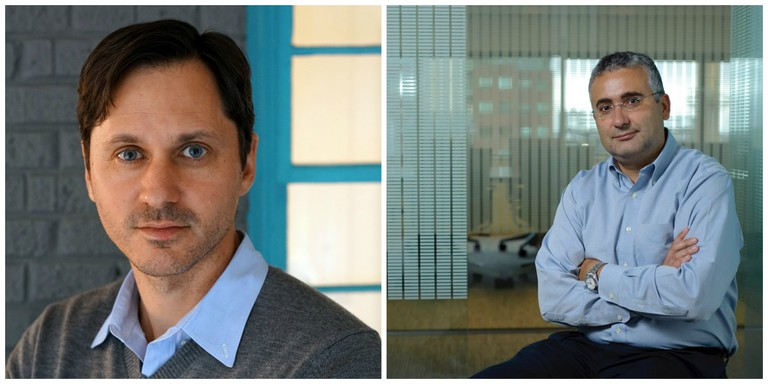 NuTonomy co-founders (L-R), CEO Dr. Karl Lagnemma and CTO Dr. Emilio Frazzoli | Courtesy of NuTonomy