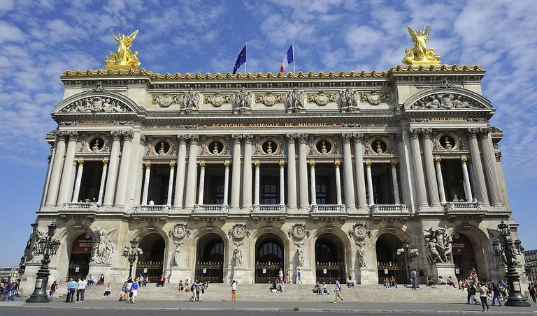 Opéra Garnier │© Rog01 / Wikimedia Commons