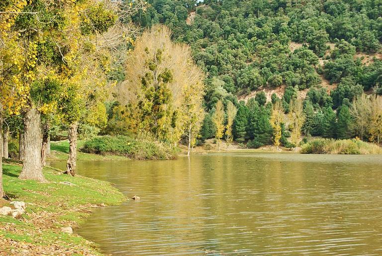 Lake close to Khenifra
