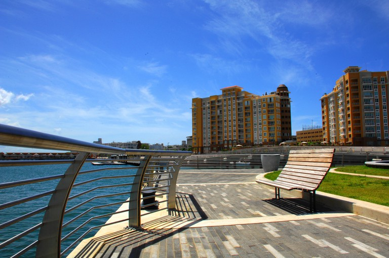 Part of Bahia Urbana boardwalk