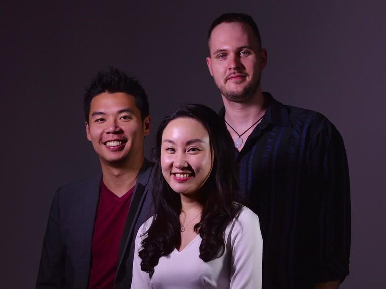 From L-R, PatSnap founders Jeffrey Tiong, Guan Dian, and Markus Haense | Courtesy of PatSnap