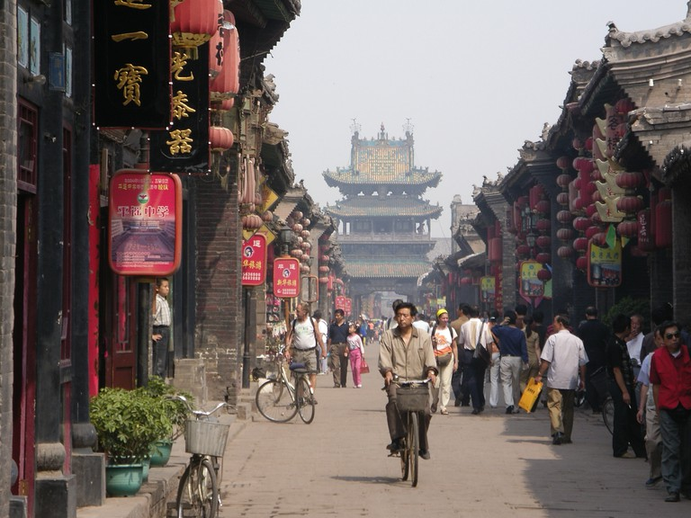 Pingyao old town's main street