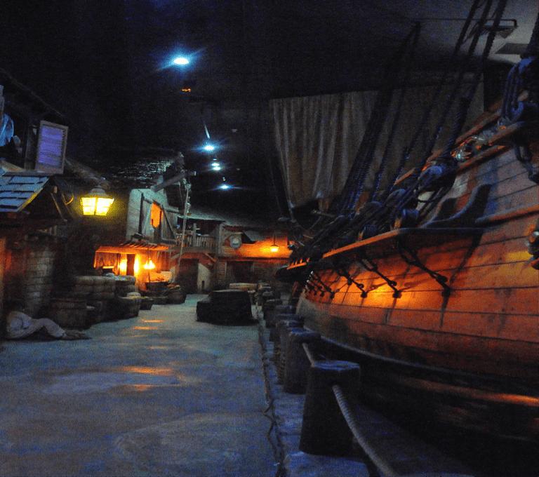 A replica of a pirate Ship