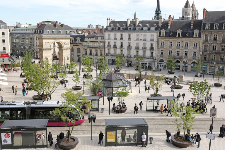 Place Darcy in Dijon's city center