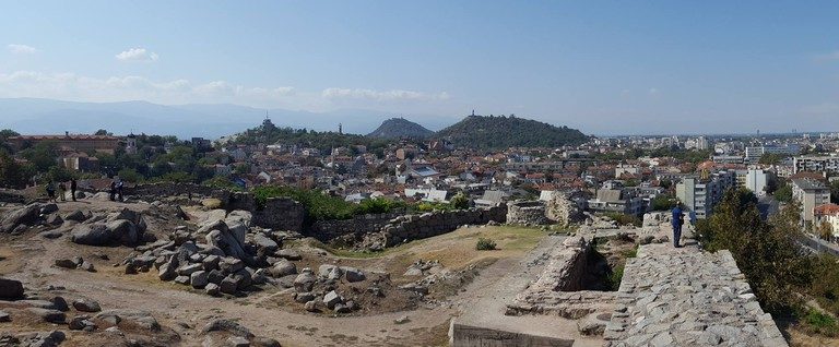 The ancient part of the Old Town in Plovdiv