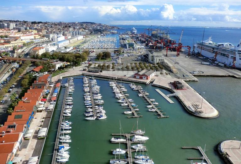 Lisbon port