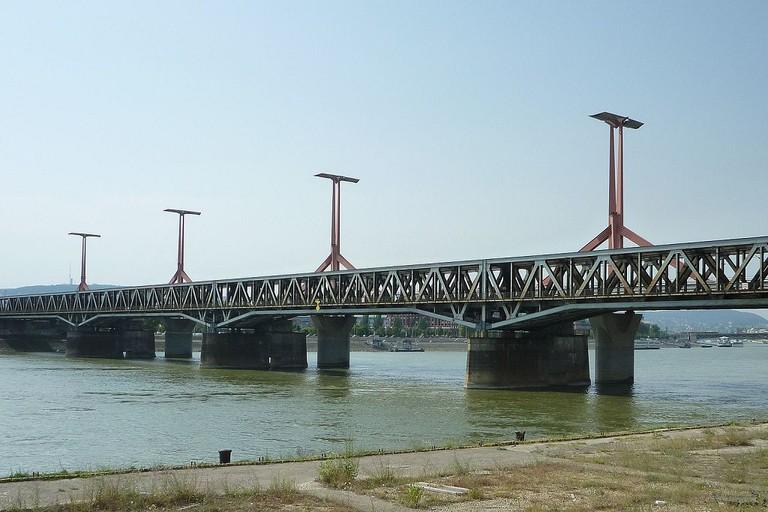 Rakoczi Bridge Budapest