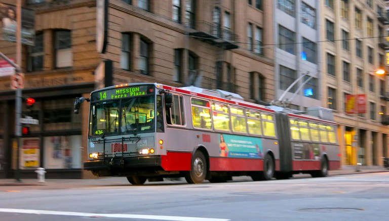 San Francisco MUNI | © torbakhopper / Flickr