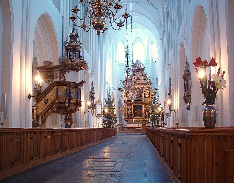 Visit the oldest building in Malmö, St. Petri Kyrka