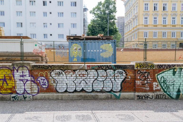 Donaukanal-Vienna Street Art-Vienna-Austria