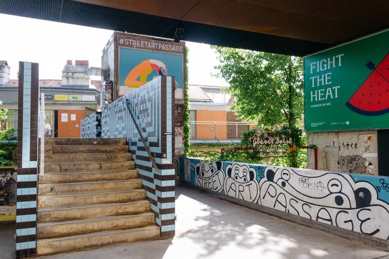 Street Art Passage-Vienna Street Art-Vienna-Austria