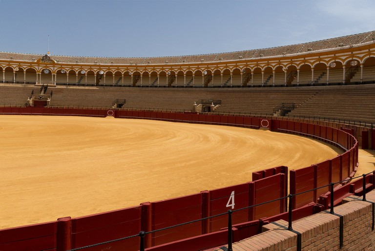 Seville's bullring is one of the oldest and most important in Spain