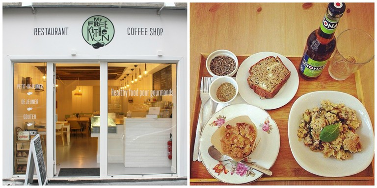 Shopfront and the Plateau Gourmand at My Free Kitchen │ Courtesy of My Free Kitchen