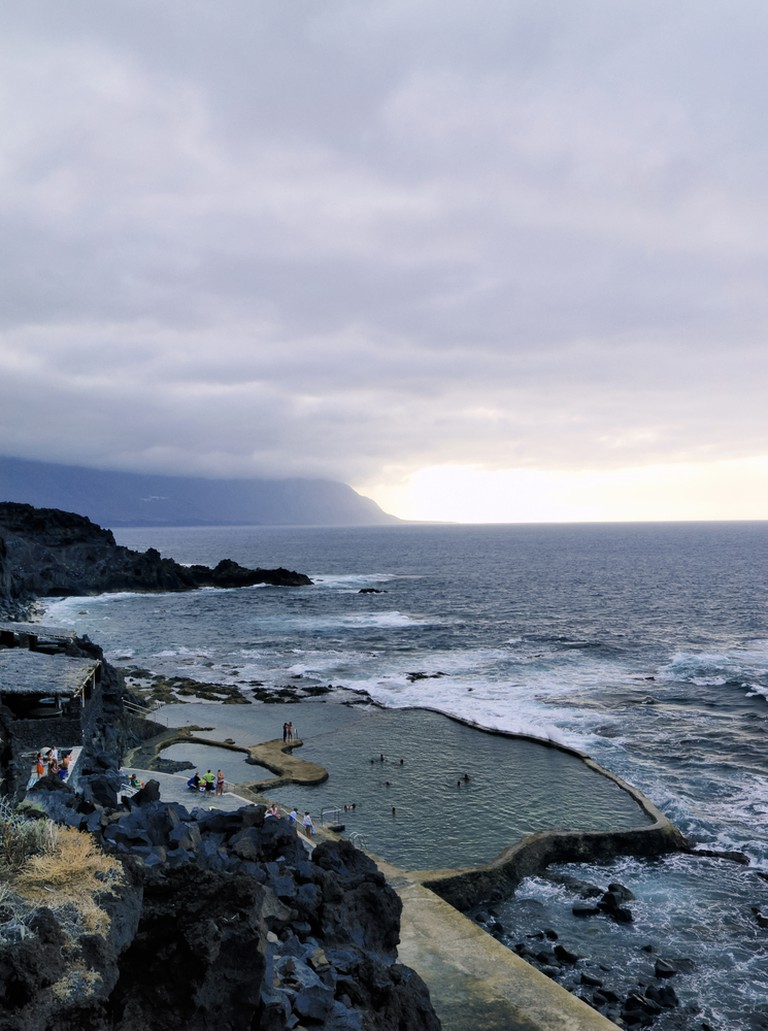 Relax in one of El Hierro's natural baths